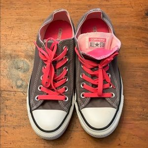 Converse all stars double tongue - Worn once